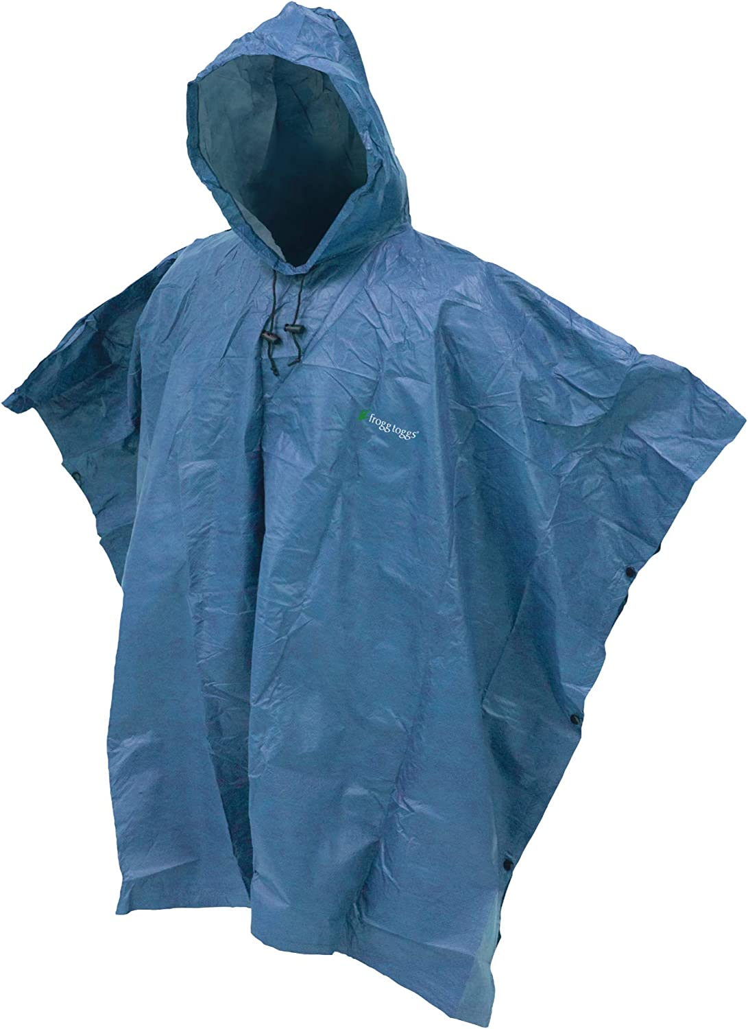 One Size Carbon Black Frogg Togg Ultra-lite2 Waterproof Breathable Rain Poncho