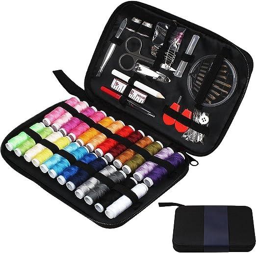Kit de costura kit de mini costura port/átil suministros de costura DIY con accesorios de costura