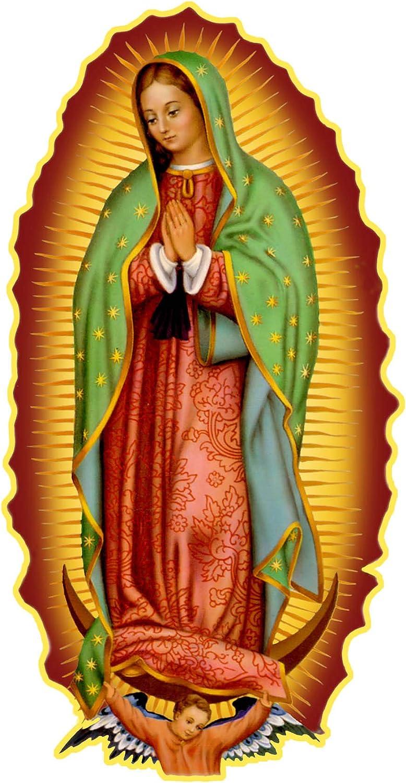 Virgen de guadalupe Virgin Mary Sticker Decal calcomania 3.8X4.75 X Graphics