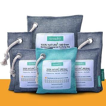 Amazon.com: 2 paquetes de 7.05 oz de bolsas de purificación ...