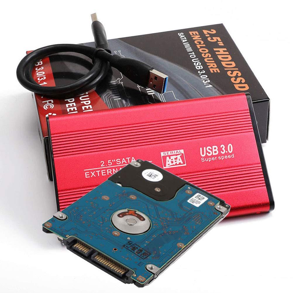 Uonlytech Disco Duro Externo portátil STATA a USB 3.0 Disco Duro ...