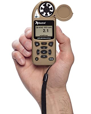 Kestrel 5700 Elite Weather Meter with Applied Ballistics, Flat Dark Earth