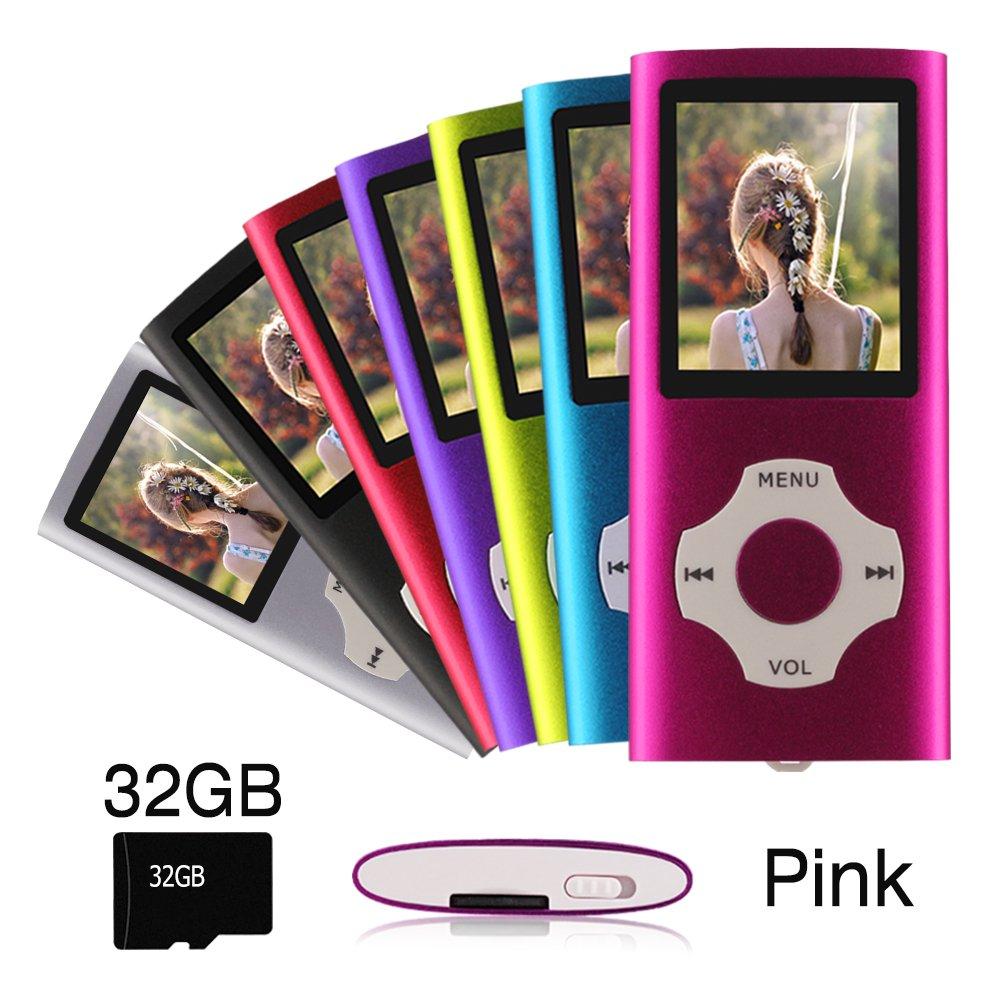 Ueleknight - Reproductor MP3 MP4 con Tarjeta Micro SD de 32 ...