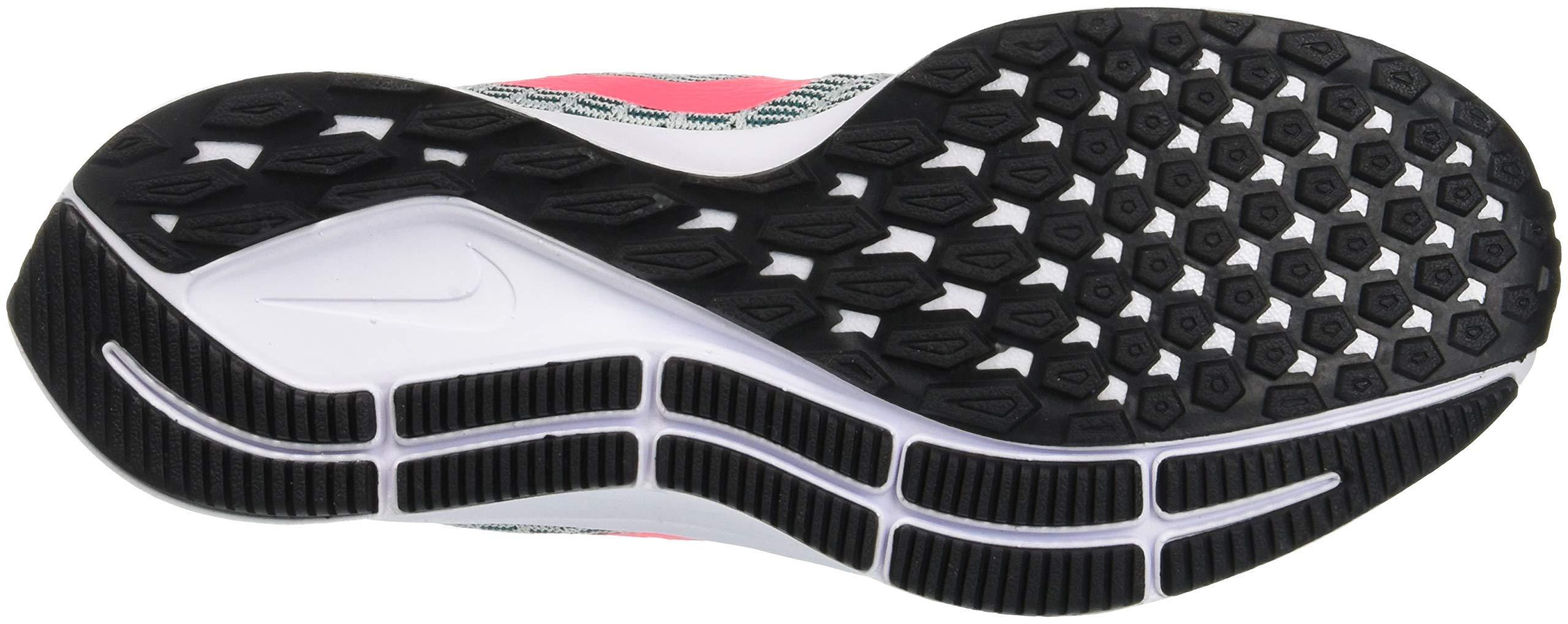 Nike Air Zoom Pegasus 35, Women's Running, Multicolored (Barely Grey/Hot Punch/Geode Teal/Black 009), 4 UK (EU) by Nike (Image #5)