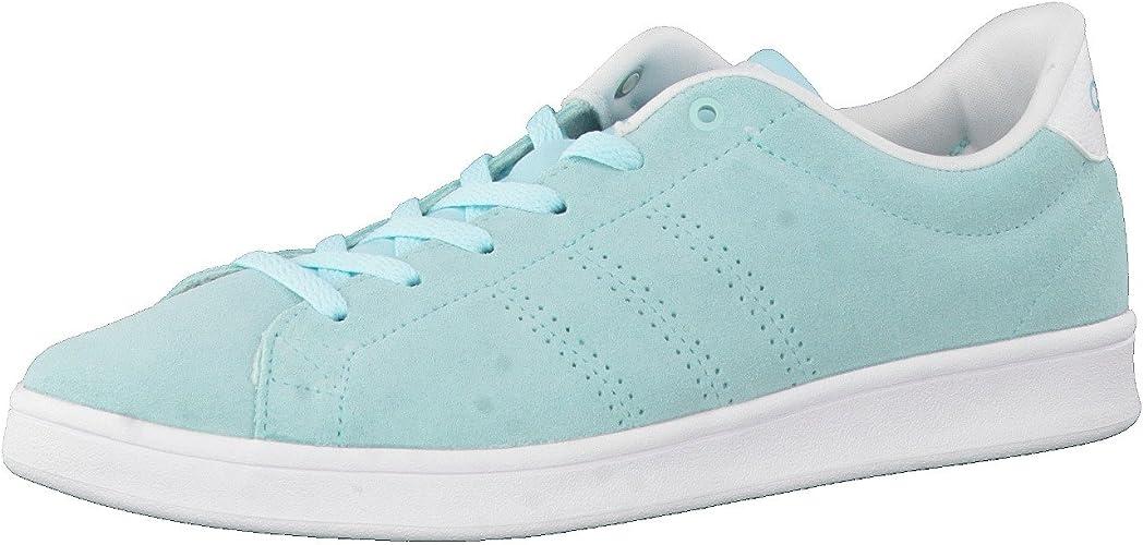 adidas Advantage Clean Qt W, Sneaker Basses Femme, Bleu ...