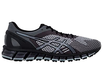 pretty nice bd3ce 6ed2a ASICS Gel-Quantum 360 Knit T728N-9697 Mens Grey Shoes ...