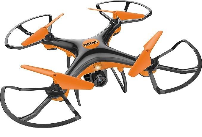 Denver DCH-240 Drone con cámara, Color Naranja, (w) x 20.00(d) x ...