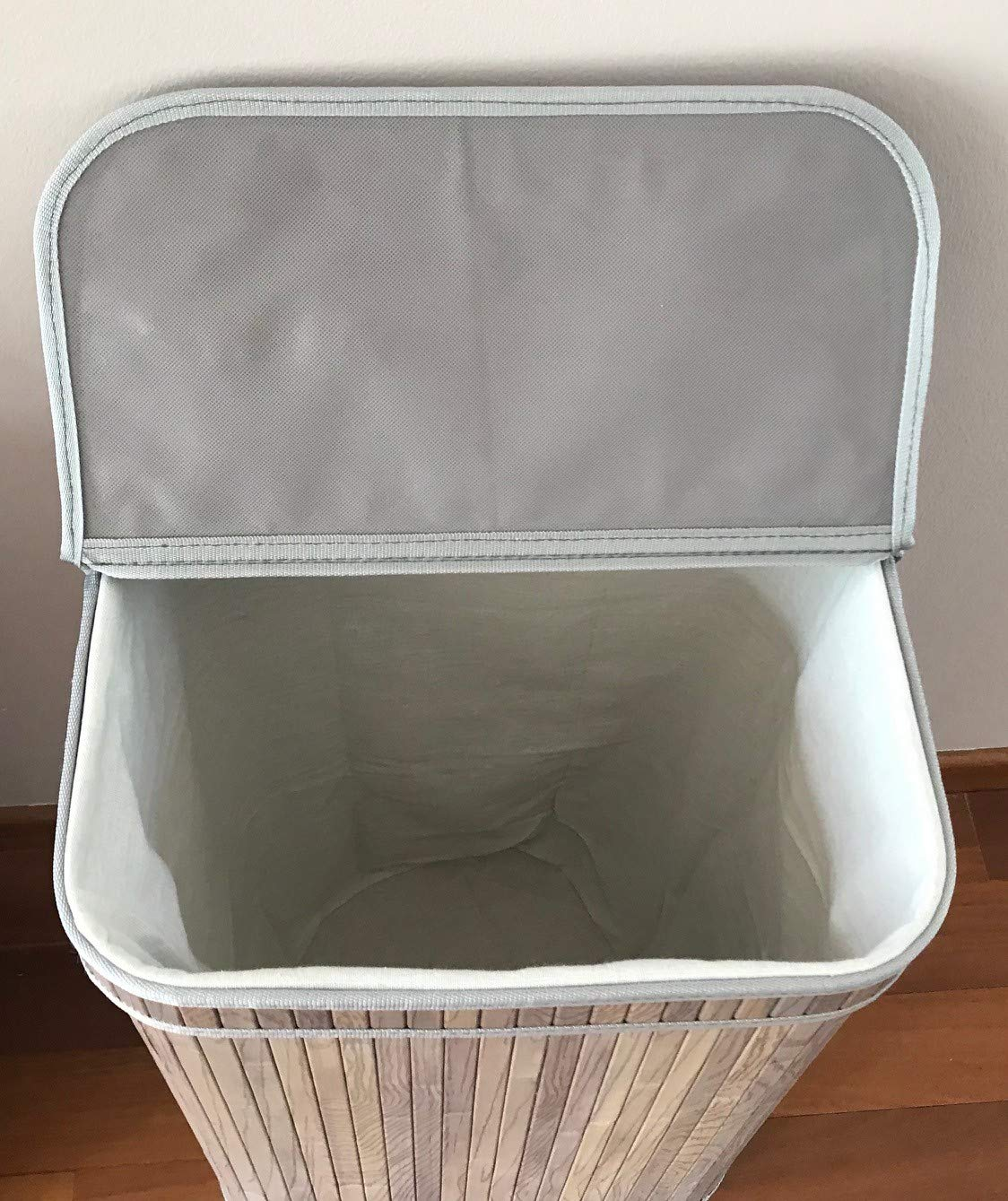 osoltus Camps Bay Laundry Sorter in Various Sizes Natural Grey 1 Fach