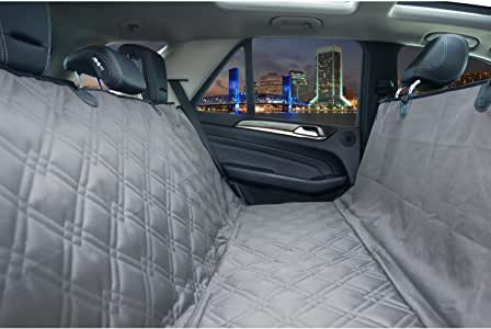 For Ford S Max 06 On Pet Hammock Rear Black HD Waterproof Seat Cover