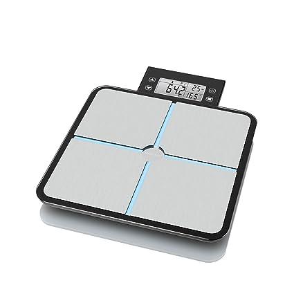 Medisana – 40482 – BS 460 Connect – Báscula con análisis corporal pantalla LCD extraíble Balances