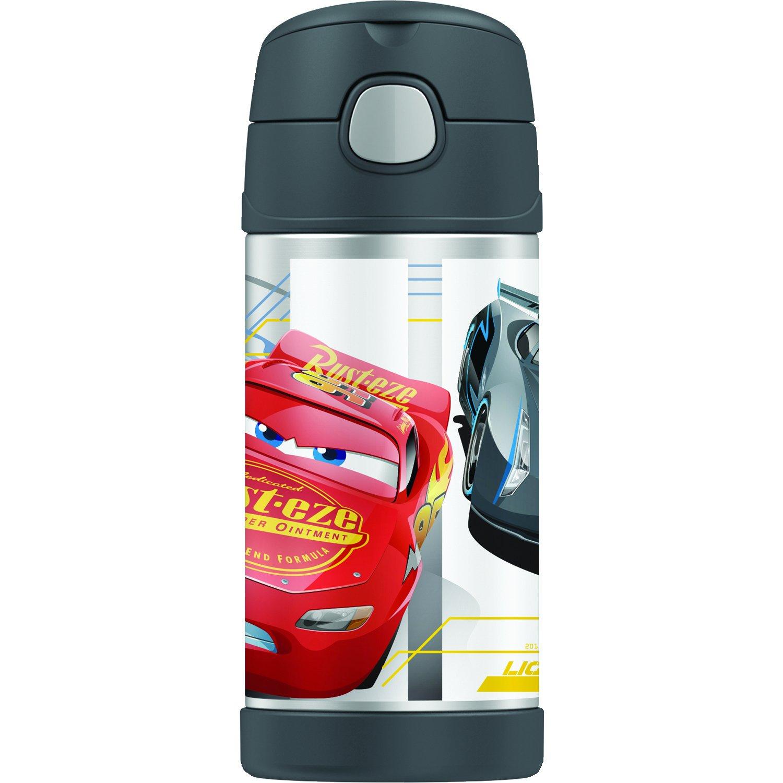Thermos Trinkflasche Funtainer mit Strohhalm - 355 ml