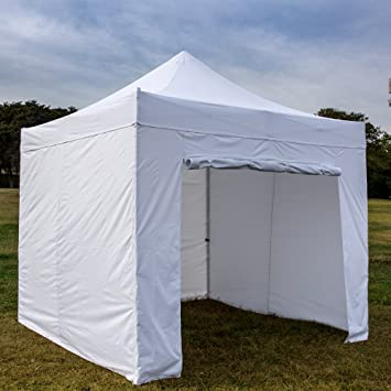 SNAIL 10 X 10 ft Waterproof Pop Up Canopy Commercial Aluminum Outdoor Instant Shelter with 4 & Amazon.com : SNAIL 10 X 10 ft Waterproof Pop Up Canopy Commercial ...