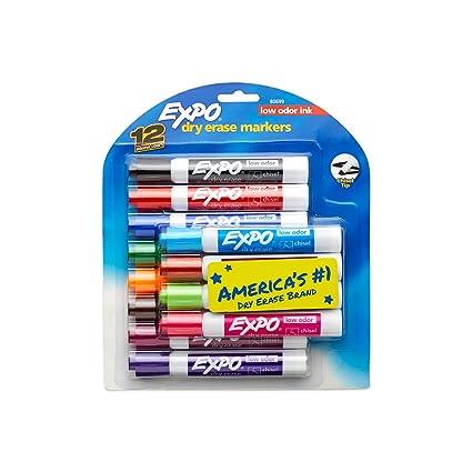 dddf01dd638 Amazon.com   EXPO Low Odor Dry Erase Markers
