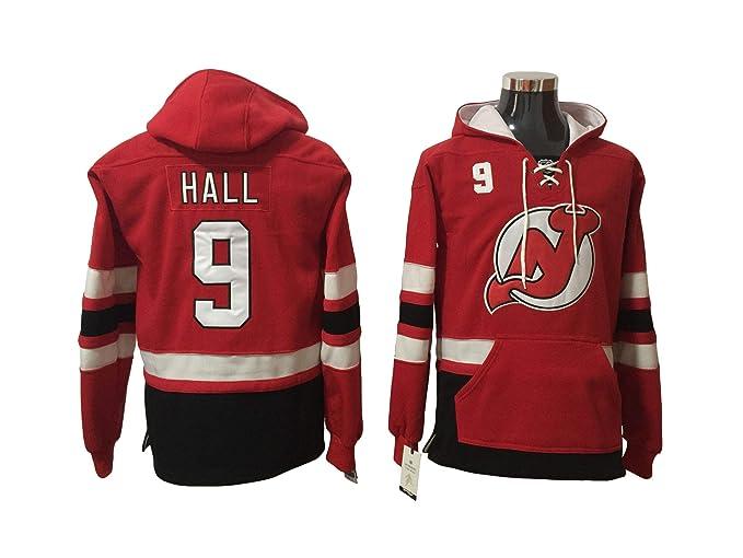 Hall 9 Devils Hockey Hoodie Men Onesie Sweatshirt Champion Tank top  Sweaters Pullover Jersey (M a3f688722f3