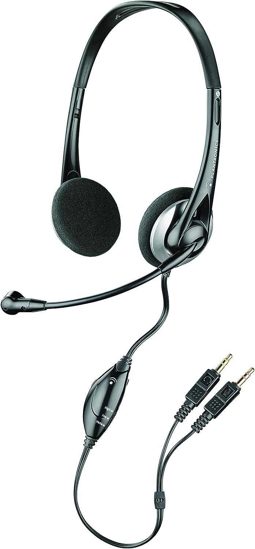 Amazon Com Plantronics Audio 326 Stereo Pc Headset