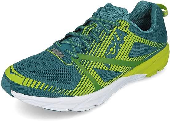 Zapatillas Hoka Tracer 2 Azul/Lima Talla 44: Amazon.es: Zapatos y complementos
