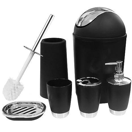 Amazon.com: KMESOYI Juego completo de accesorios de baño ...