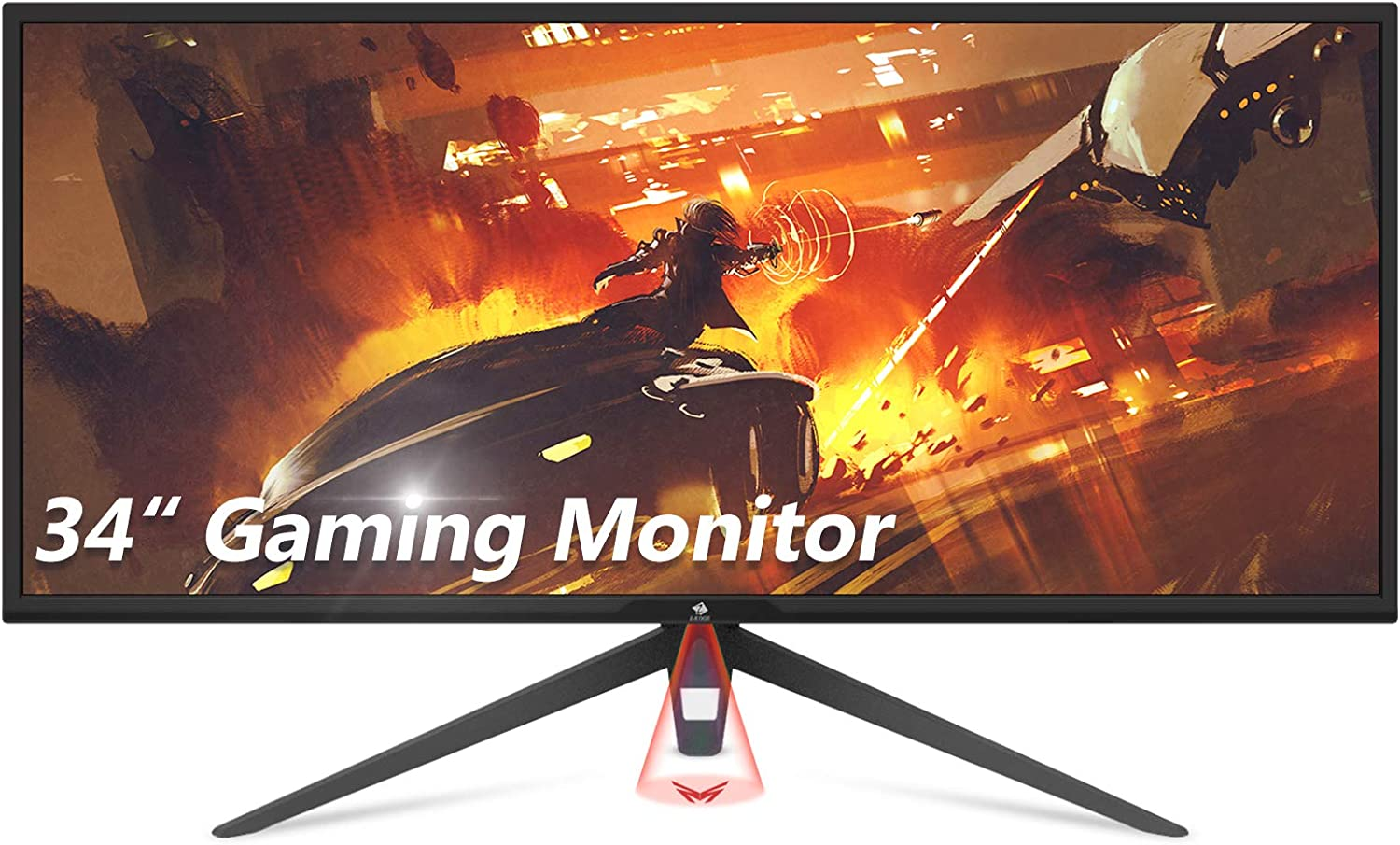 Z-Edge 34 inch Gaming Monitor, 100Hz Refresh Rate / 1ms Response Time, Frameless Ultrawide Monitor, 3440 x 1440 Display, 21:9 Aspect Ratio, AMD FreeSync Technology (Display Port & 2 x HDMI Ports)