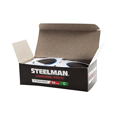 Steelman JSRG8 2-Inch Universal Tire Repair Radial Patch, Box of 50: Automotive