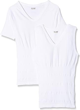 FitxSlim IG109501 Camiseta Interior, Hombre: Amazon.es: Ropa y accesorios