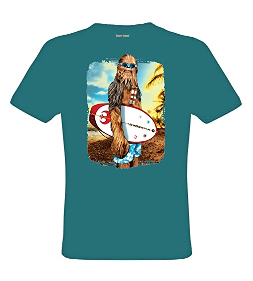 Ethno Designs Fun - Chu Surfin - Womens & Mens Streetwear & Fun T-Shirt
