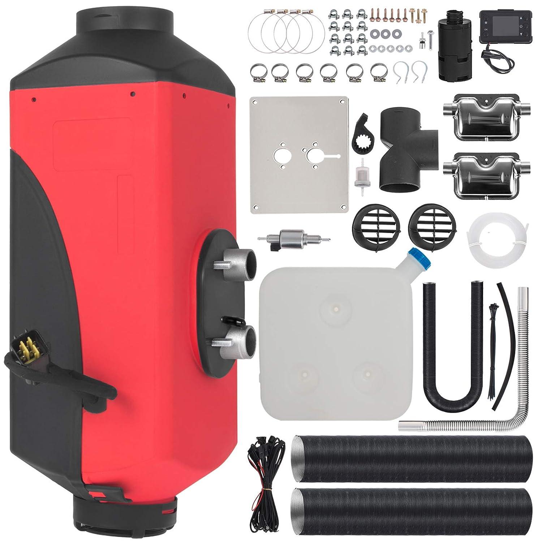 HODOY Riscaldatore Digitale 3Kw Termostato Diesel Riscaldatore Elettrico 12V Riscaldatore Elettrico a Gas Per Camper Camper e Autobus 12V 3Kw