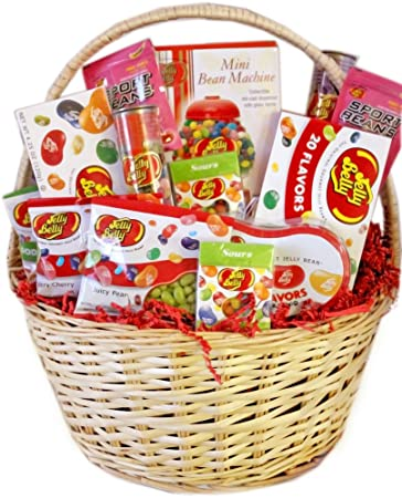 Image Unavailable. Image not available for. Color: Jelly Belly Gourmet Jelly Bean Gift Basket