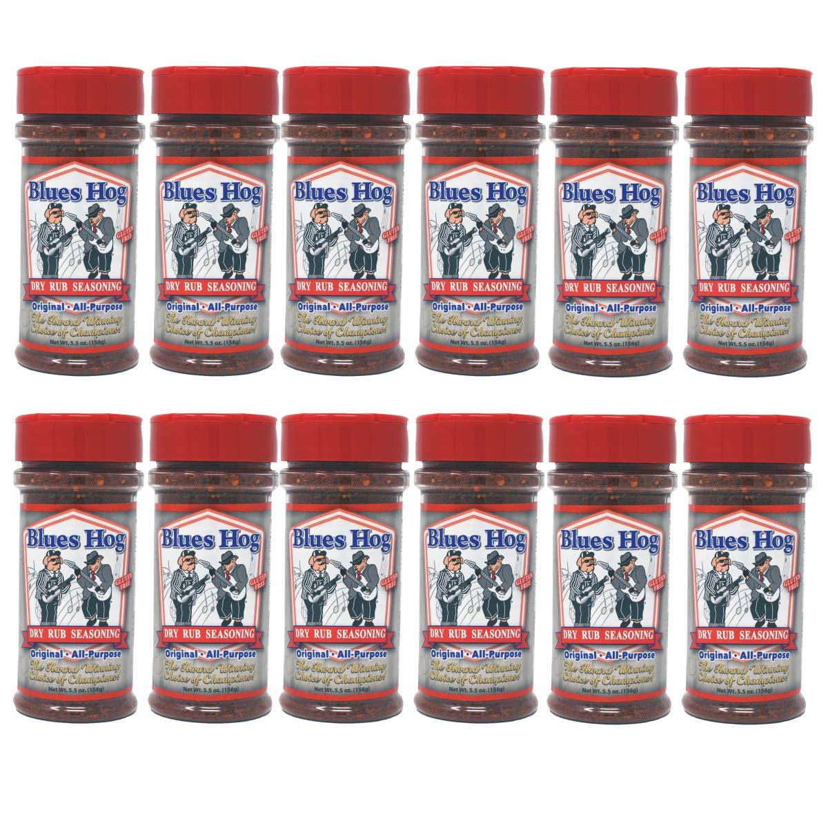 Blues Hog Original Dry Rub Seasoning (5.5 oz. (12 Pack))