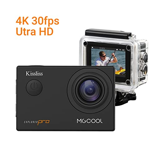 17 opinioni per MGCOOL Explorer PRO 4K Action Camera di Kissliss, 16MP Sony Sensore WIFI Sport