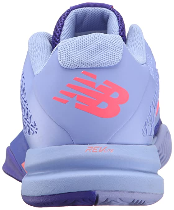 New Balance Mujer 996v2 Tennis Shoe, Spectral Blue/Pink, 36.5 B EU
