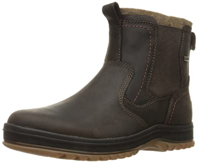 Rockport Men's World Explorer Chelsea Snow Boot- Dark Bitter Chocolate-6.5 W