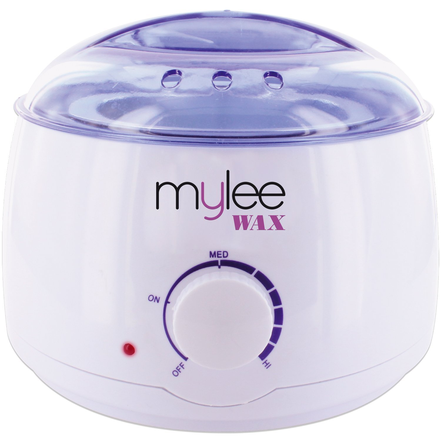 Mylee Professional Electric Wax Heater for All Wax Types, Wax Melter For Depilatory Hair Removal Warmer with Adjustable Temperature and Built-in Thermo Safety Control, Removable 500ml Container