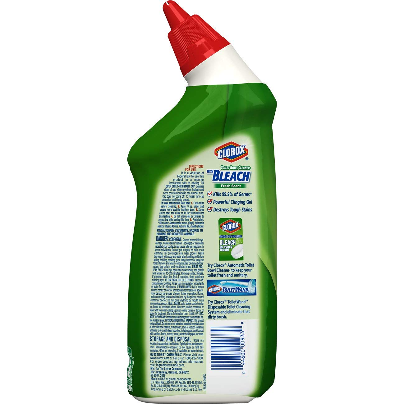 Amazon Clorox Toilet Bowl Cleaner With Bleach Fresh Scent 24