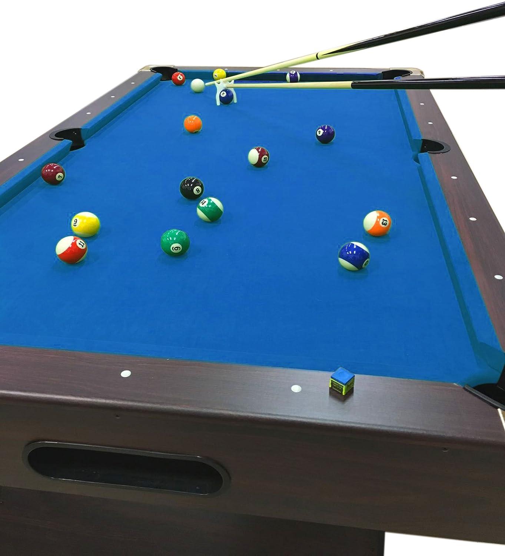 Mesa de billar juegos de billar pool 7 ft modelo BLUE SEA Medición ...