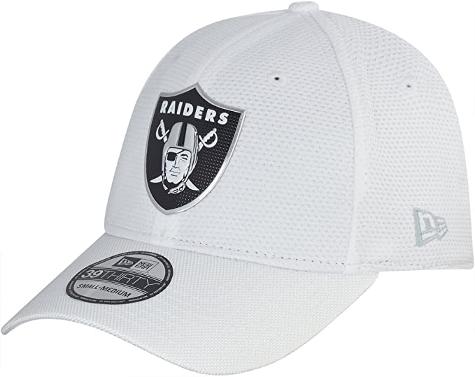 NEW ERA 39THIRTY – Gorra Color Rush Oakland Raiders Blanco, unisex ...
