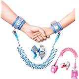 Anti-Lost Wrist Link, Outdoor Harness for Children. (Blue/8.2 feet and Pink/4.9 feet)