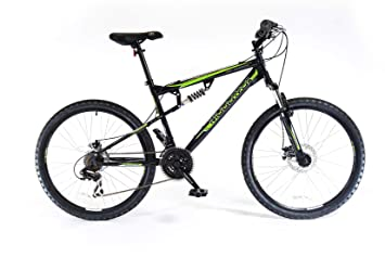 41a58934bd3 Image Unavailable. Image not available for. Colour: Muddyfox Unisex's Livewire  Dual Suspension 21 Speed Mountain Bike ...