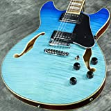 Ibanez Artcore AS73FM Semi-Hollow - Azure Blue Gradiation