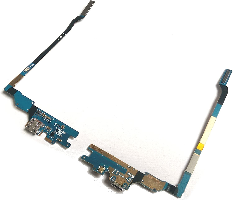 Unbekannt Charging Dock Connector para Samsung Galaxy S4/i9505/Carga Micro USB Flex Cable micr/ófono