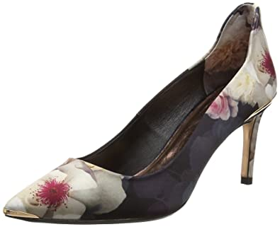 Peetch, Escarpins Bout Fermé Femme, Noir (Black), 41 EUTed Baker