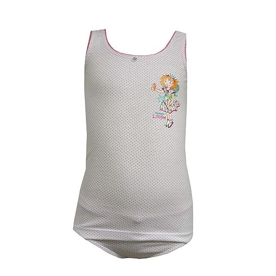 Prinzessin Lillifee Unterw/äsche Set Unterhemd Slip Rose Schiesser M/ädchen