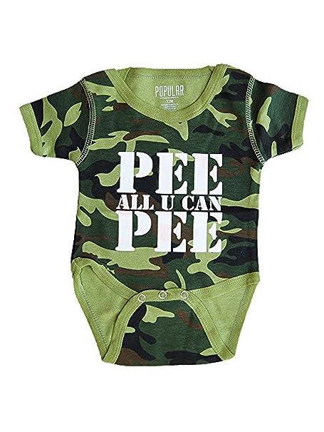 Amazon.com: Popular Kid Calidad Hecho bebé onesies- Funny ...