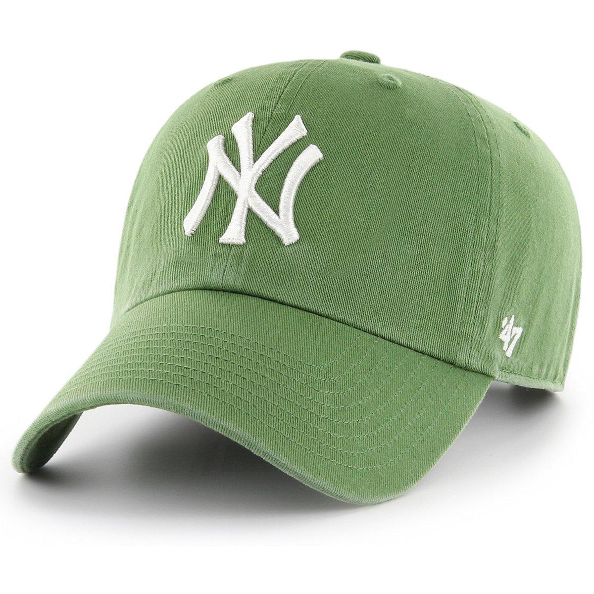 '47 Brand MLB NY Yankees Clean up Cap - Fatigue Green B-RGW17GWSNL-FF