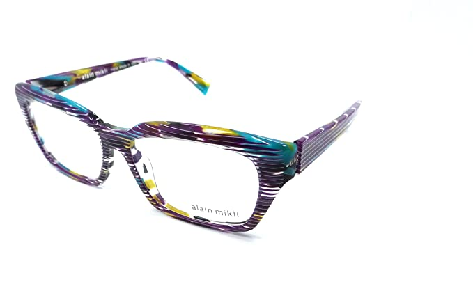 a5f5614ed3d Amazon.com  Alain Mikli A03010 Eyeglasses Color B0F4  Clothing