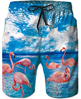 LerBen/® New Mens Summer Holiday Beach Shorts Swimming Trunks Surfing Boardshorts plus size with Mesh Lining
