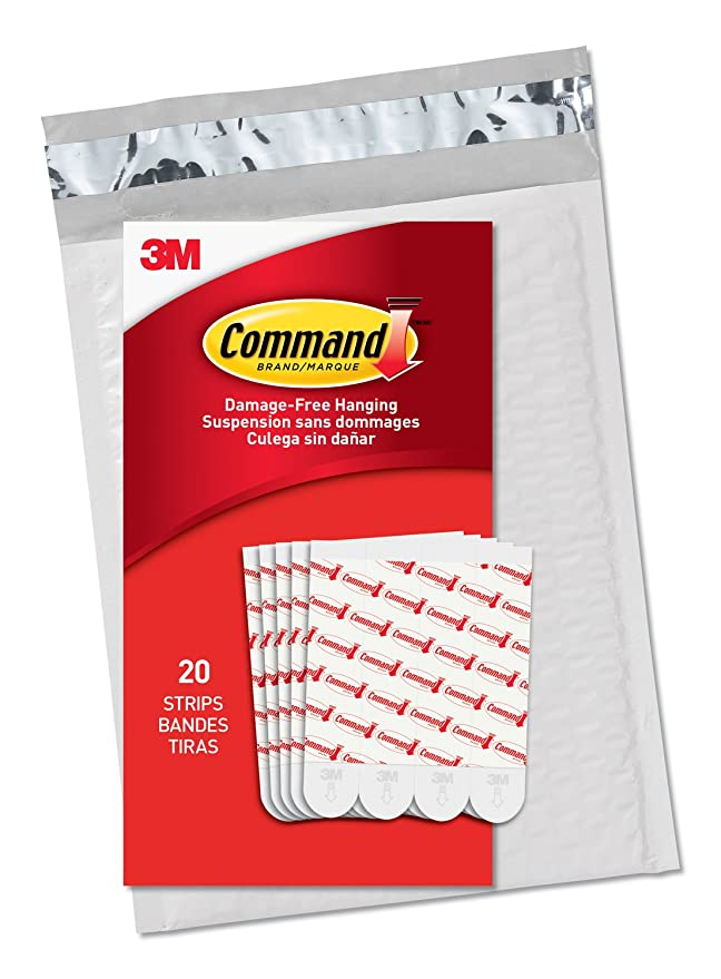 Review Command Large Refill Strips,