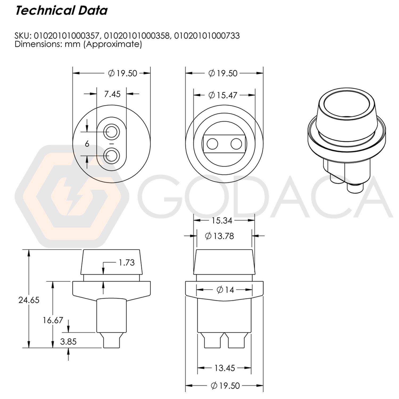 2x Connectors Socket Bulb Light Harness Pigtail T10 168 Cj7 Cen Tech Wiring Diagram 194 Rubber Wedge Le Automotive