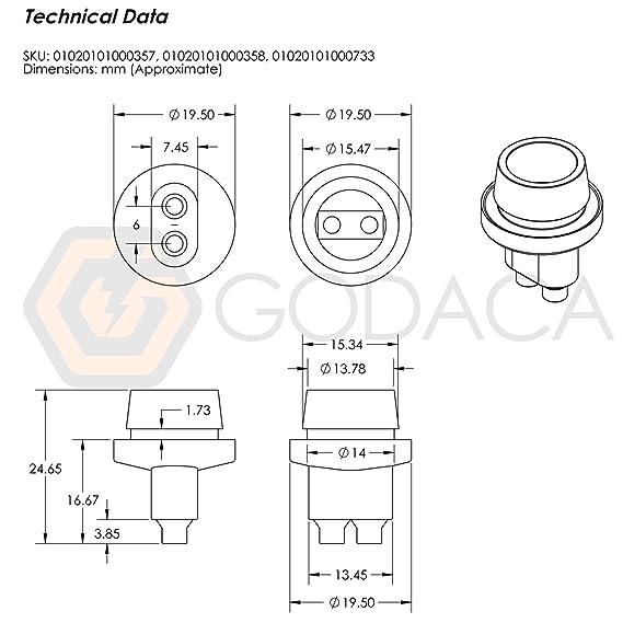 amazon com: 2x connectors socket bulb light harness pigtail t10 168 194  rubber wedge le: automotive