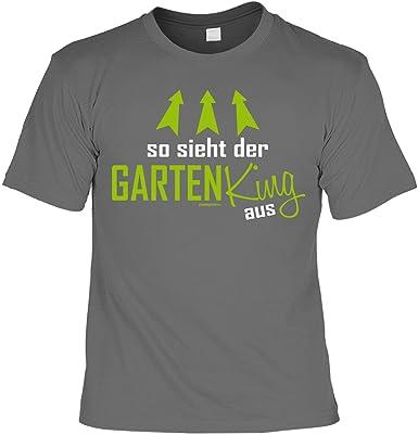 Witziges Sprüche T Shirt Gärtner : So Sieht der Garten King aus