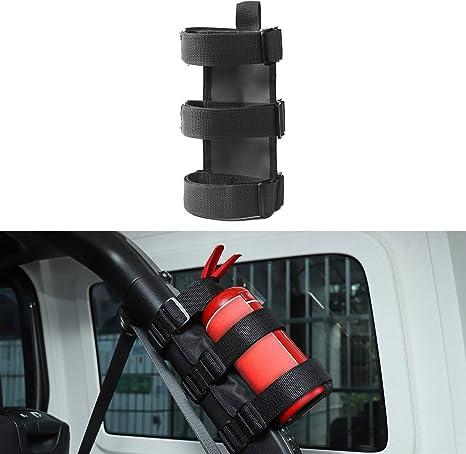 Roll Bar Feuerlöscher Halter Fire Extinguisher Holder für Jeep Wrangler Werkzeug